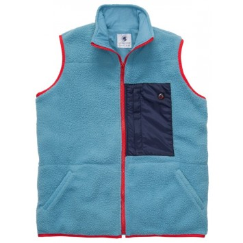 All Prep Vest - Retro Blue